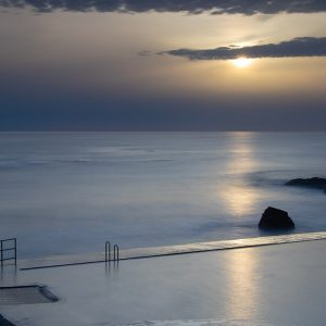 Sunset at Bude Sea Pool Image