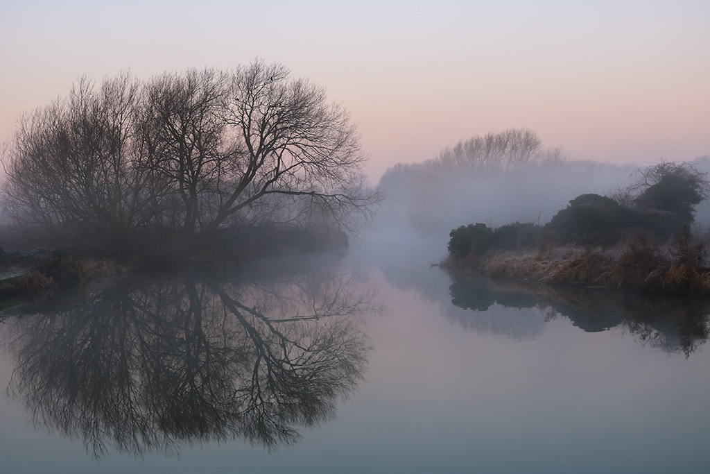 Mist at Watermead Park Image