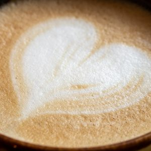 Latte Froth Heart Image