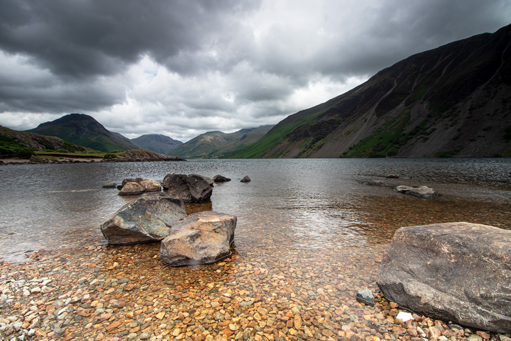 Photograph of Wast Water, Lake District