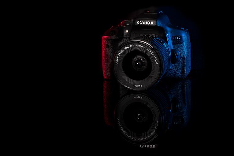 Canon EOS 750D Creative Product Photograph