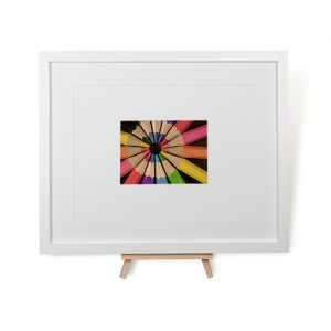 Circle Of Colour Framed Print