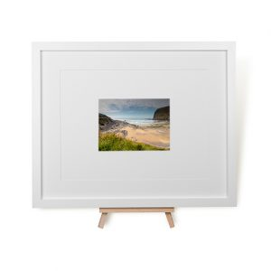 Crackington Haven Beach Framed Print