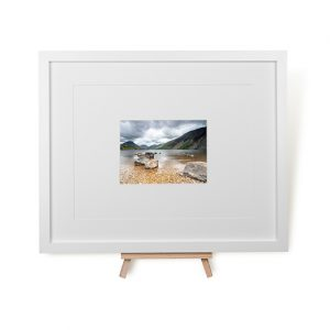 Dark Wast Water Sky Framed Print