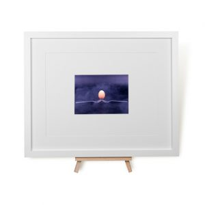 Forks And Egg Framed Print