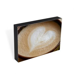 Latte Love Photo Block