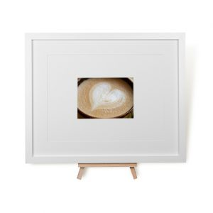 Latte Love Framed Print