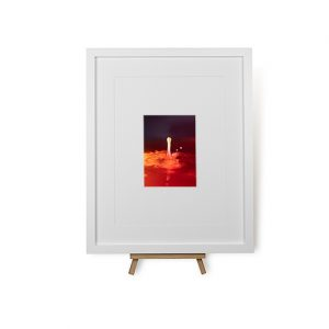 Lava Water #1 Framed Print
