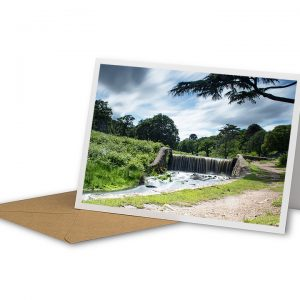 Moody Bradgate Skies Greetings Card And Envelope