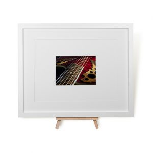Ovation Guitar Framed Print