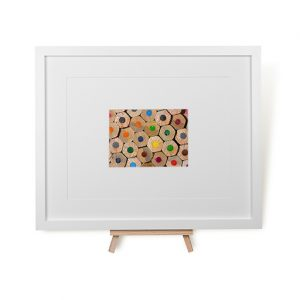Pencil Tops Framed Print