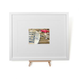 Relax Life Is Good Framed Print
