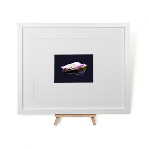 Rose Petal Reflection Framed Print
