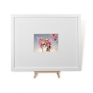 Sprouting Blossom Framed Print