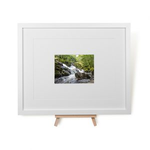 Waterfall At Eskdale Mill Framed Print