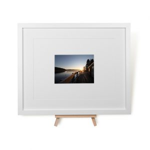 Winter Sunrise At Thornton Reservoir Framed Print