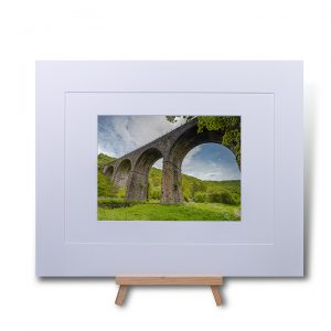 Monsal Viaduct Double Mounted Print