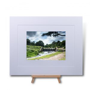 Moody Bradgate Skies Double Mounted Print