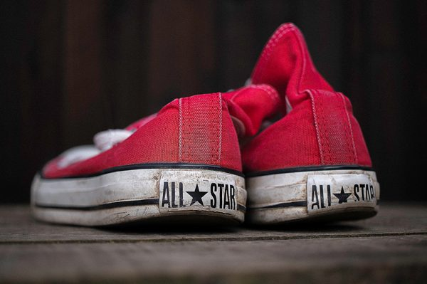 Converse Product Photography
