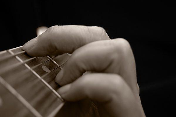 Guitar G Chord Photograph