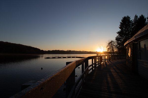 Thornton Reservoir Sunrise Image